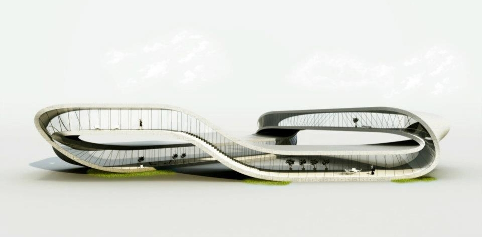 3D printed Landscape House