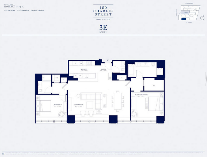 150 charles in west village releases floor plans pricing for 150 charles street floor plans