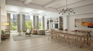 The Whitman living room