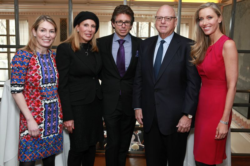 Left to right: Dina Lewis, Executive Vice President, Douglas Elliman; Dottie Herman, President and CEO, Douglas Elliman; David Mitchell, President, Mitchell Holdings LLC; Howard Lorber, Chairman, Douglas Elliman; Melanie Lazenby, Executive Vice President, Douglas Elliman