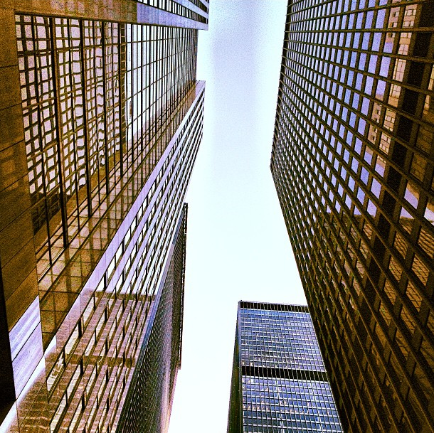 Look up, way up, Toronto.
