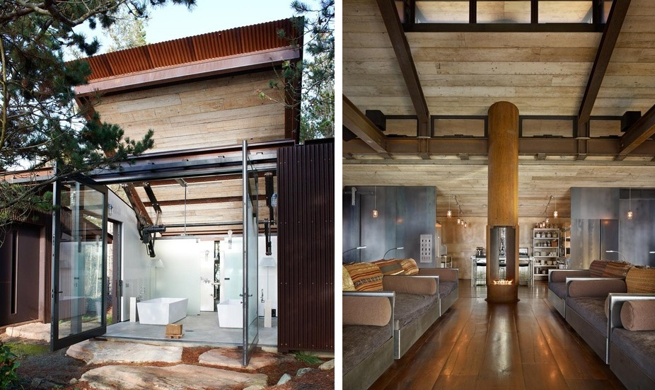Watch this shape shifting house adapt to its natural surroundings - Shape shifting house ...