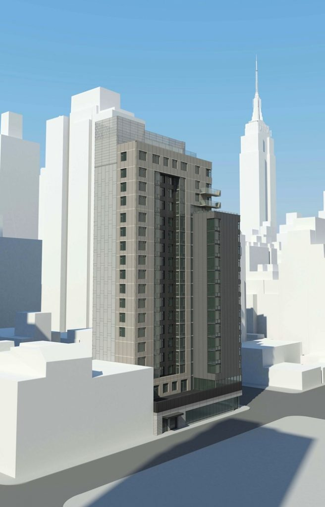 200 East 39th Street northeast view