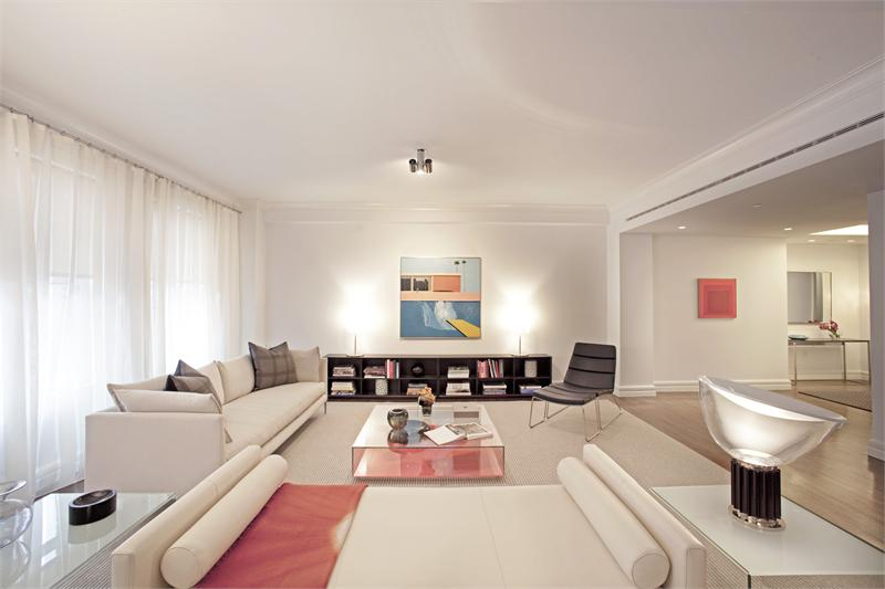 150 East 72nd living room