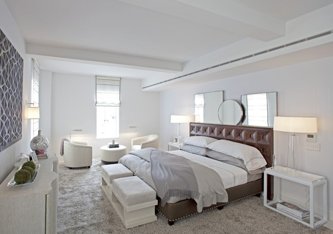 737 Park Avenue bedroom