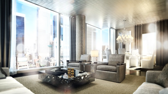 Baccarat living room