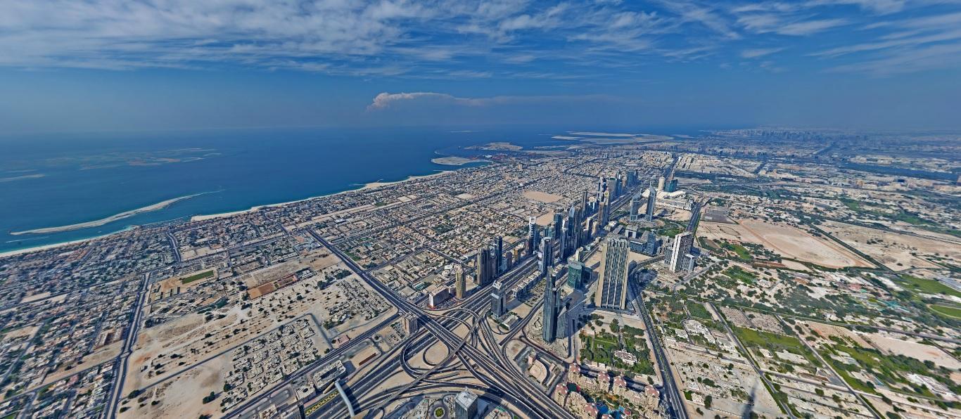 Burj 360 panorama