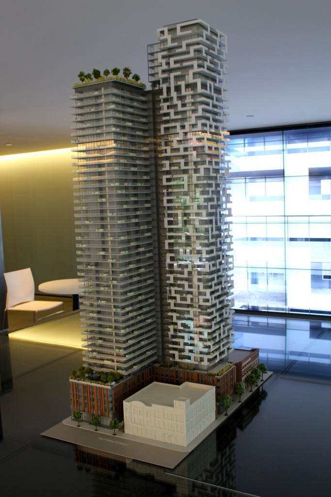 Designed by ArchitectsAlliance the building has a personality unlike any other in Toronto.