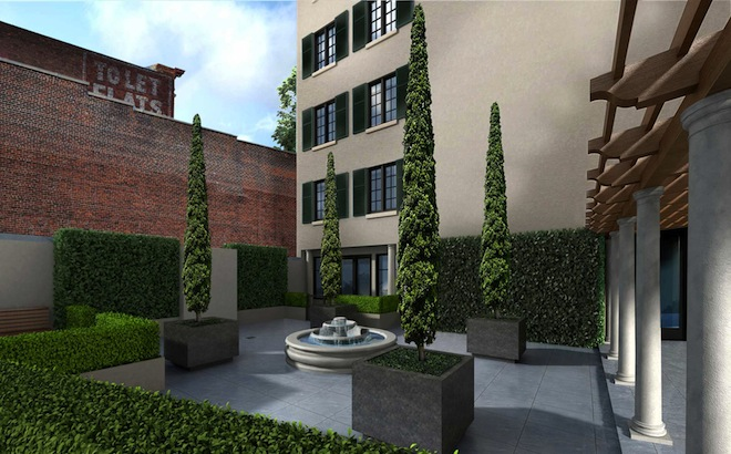 30 Henry Courtyard