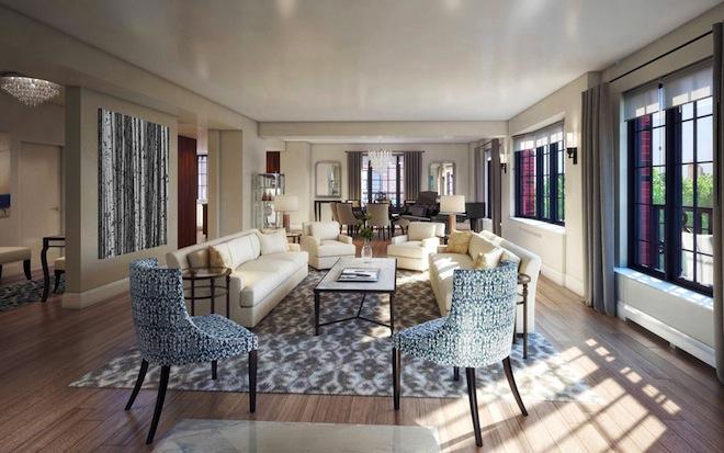 30 Henry Living Room