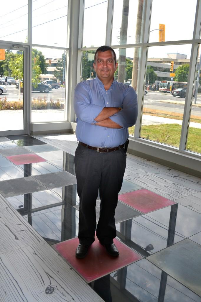 Serge is loving the liquid motion tiles.
