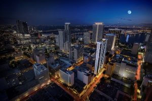 Views for Centro development in downtown Miami.