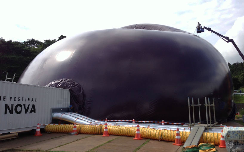 inflatable concert hall arc nova-3