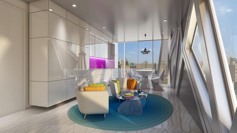 1655 Madison Living room