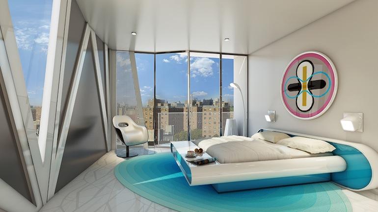 1655 Madison bedroom
