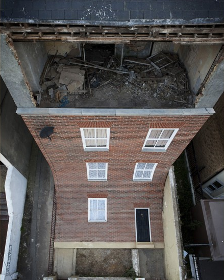 townhouse alex chinneck