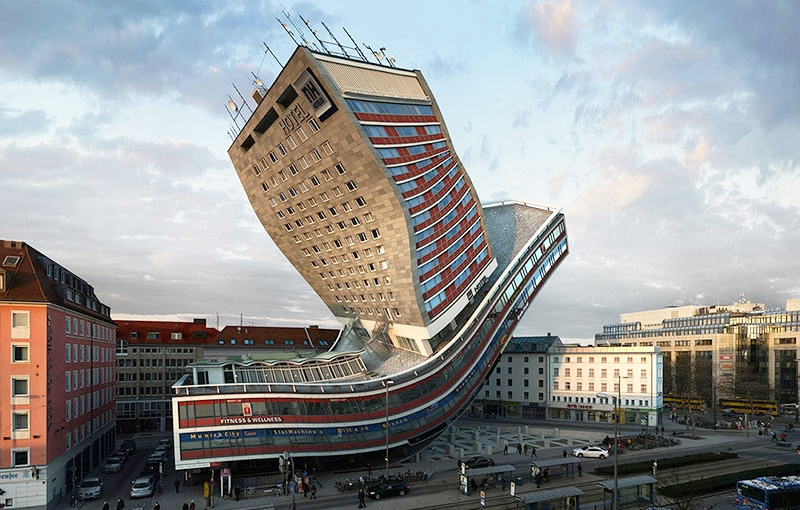 See this munich building bend flip and contort in 88 for What is needed to build a house
