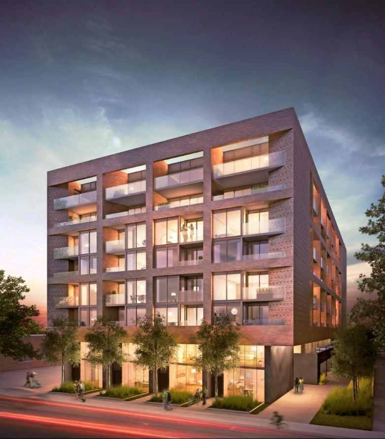 383 sorauren at the forefront of mid rise condo design for Modern condo building design