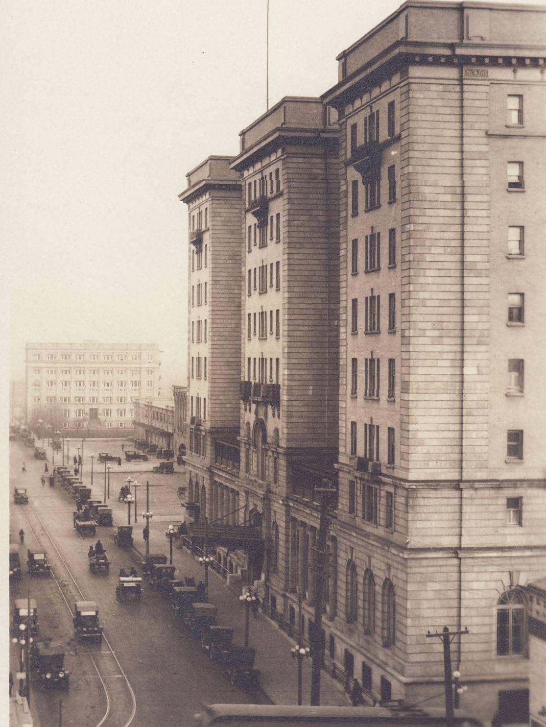 Calgary Palliser Hotel historic