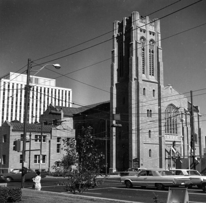 Knox United Church calgary historic