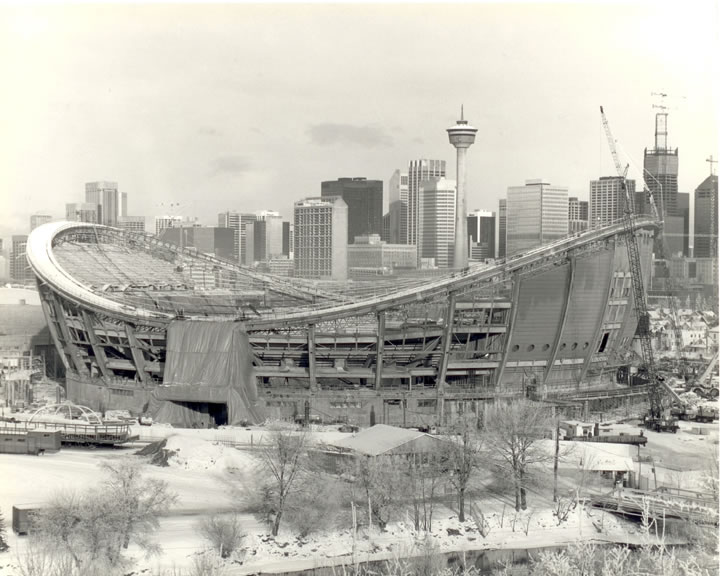 Saddledome 1981