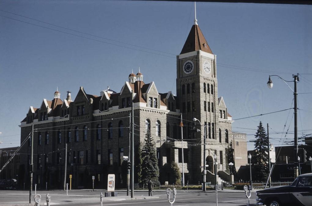 calgary city hall 1957