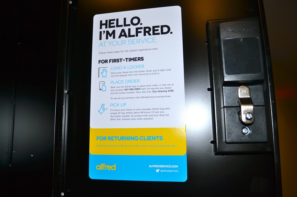 alfred service lockers