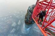 Shanghai Tower climb