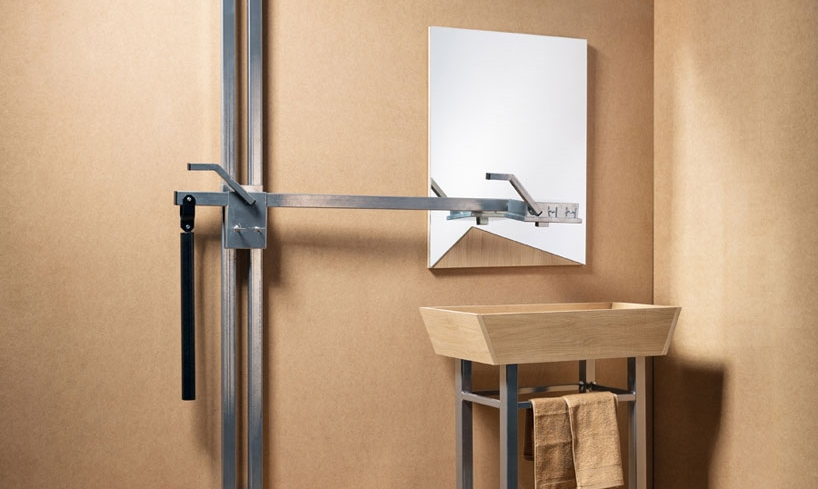 Cramped bathroom? Save space with this shower-sink combo
