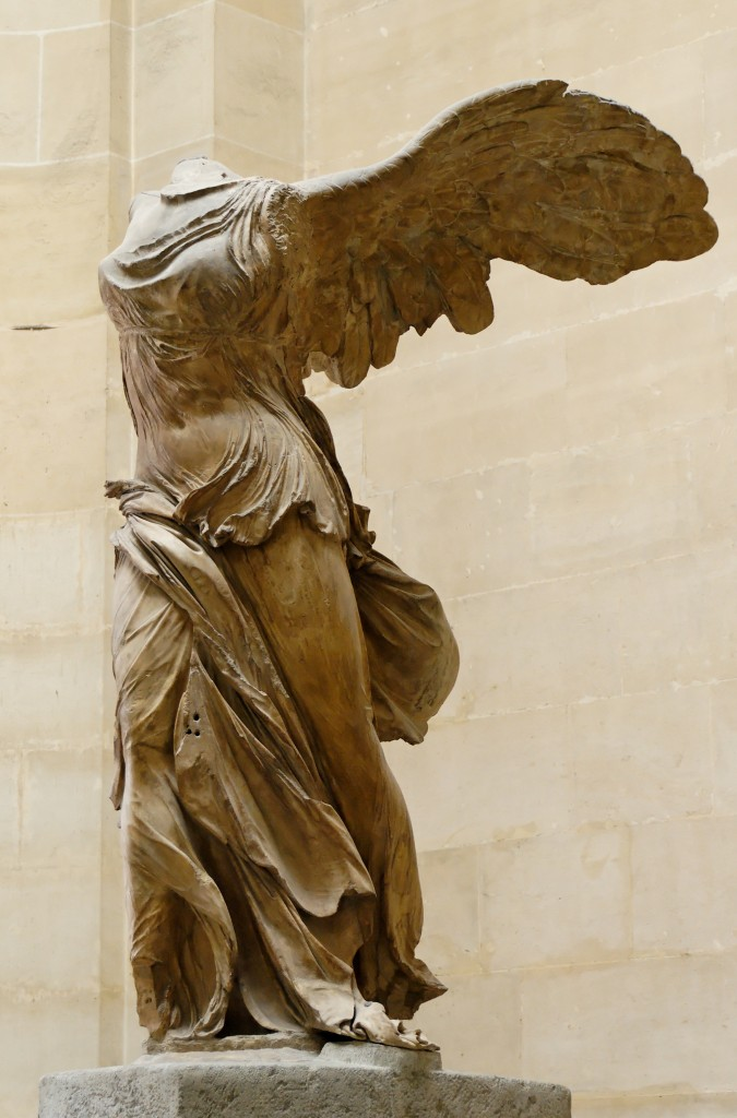 Nika statue