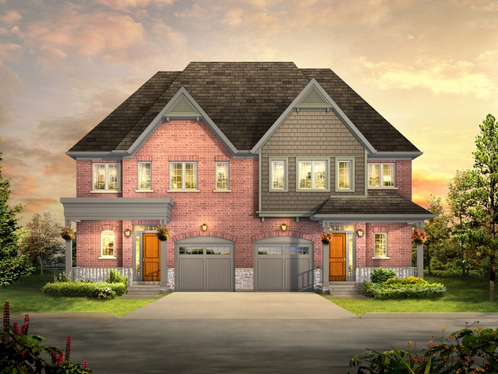 Daniels evermore is coming to brampton s castlemore for Semi detached home designs