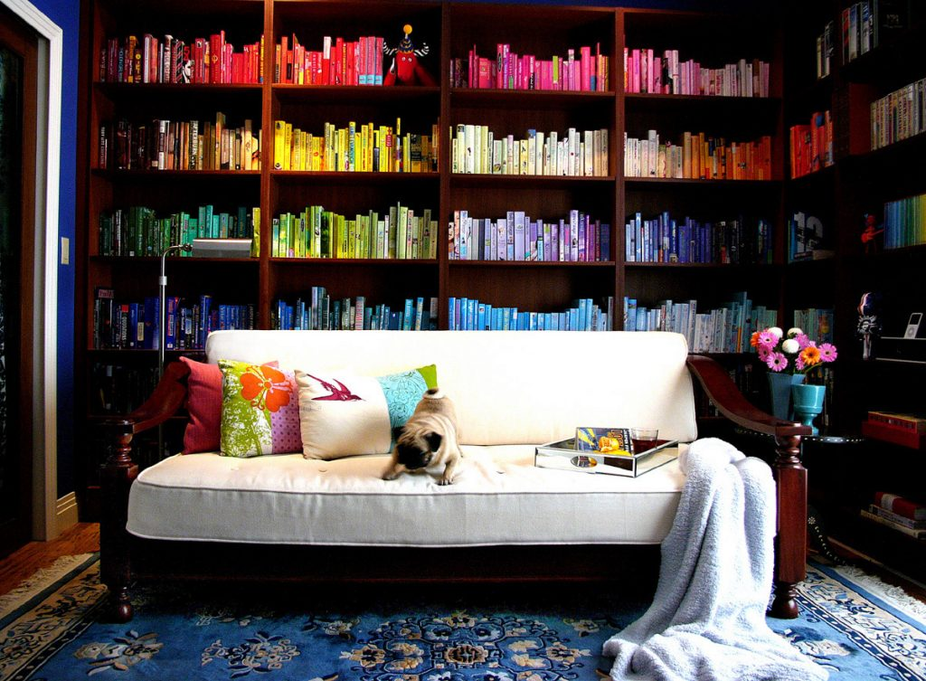 home library color