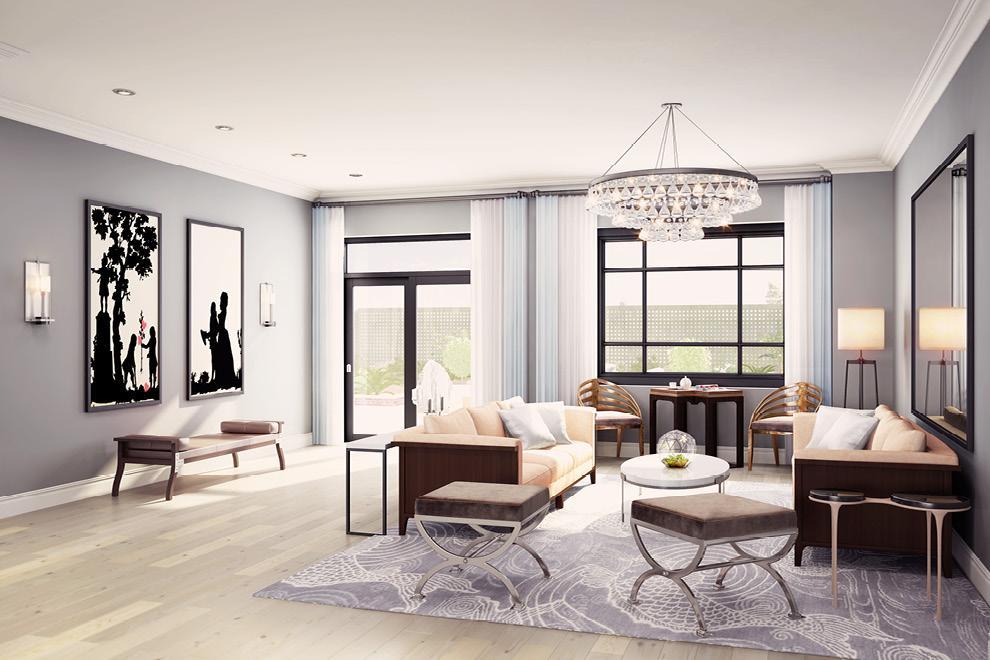 199 Mott 2br living room