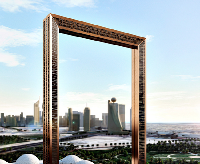 Plans for giant picture frame monument in Dubai rattled by ...