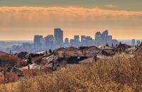 calgary skyline canadian housing prices
