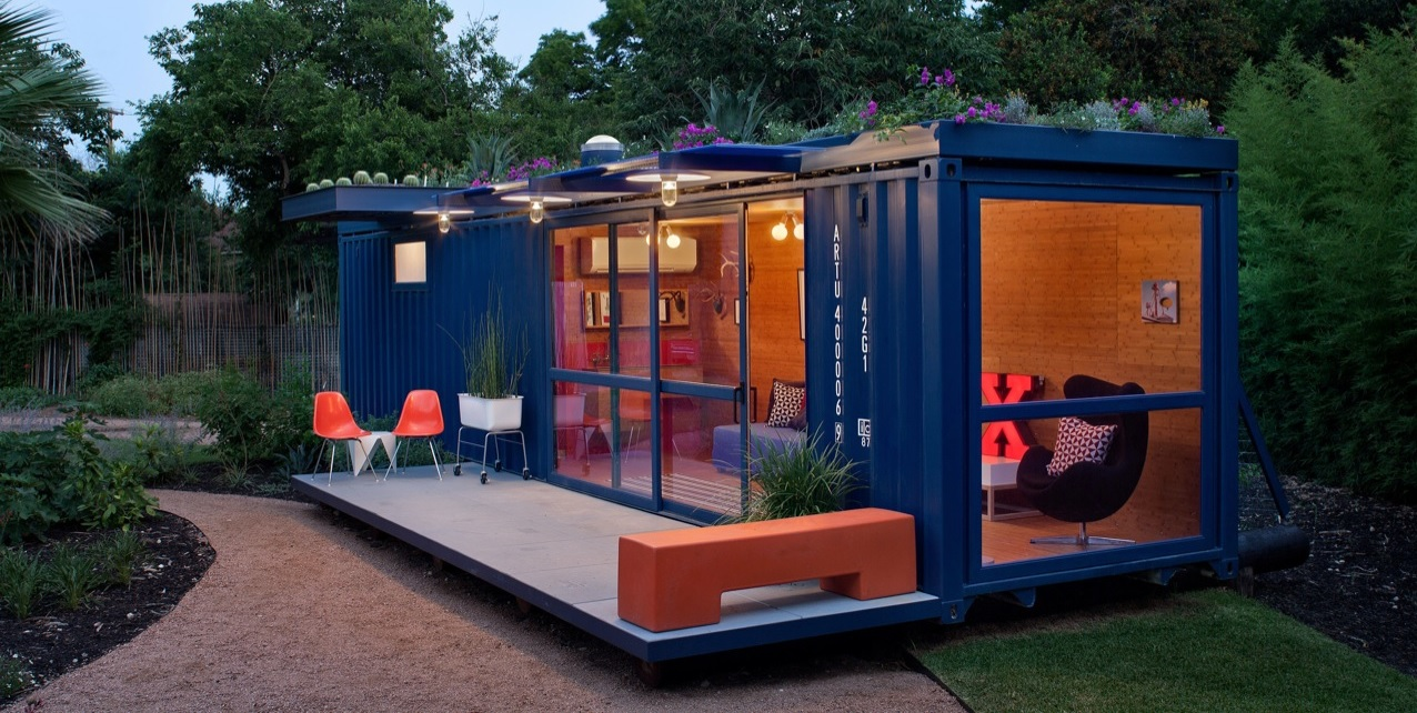 11 shipping container homes you 39 d happily pack yourself into - Container homes london ...