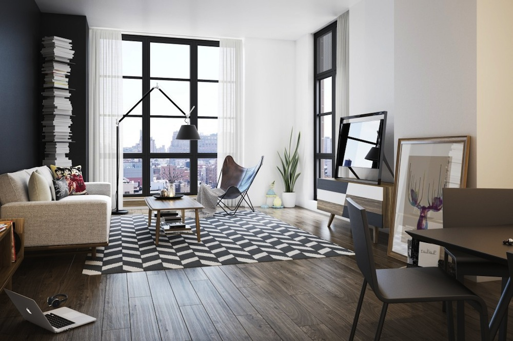 The Seymour living room