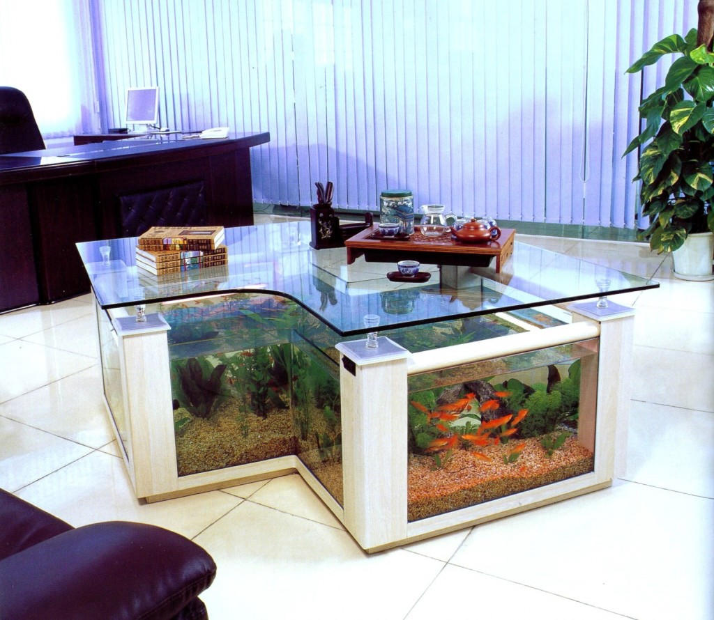 Home Aquarium Design Ideas: 18 Magnificent Aquarium Designs For Your Home