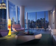 400 Park Avenue South living room