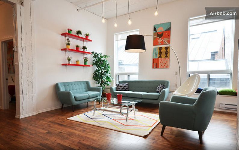 Airbnb Loft Montreal