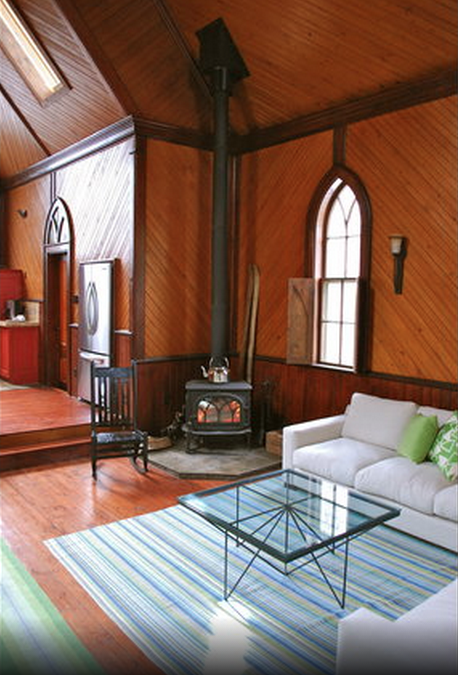 Airbnb converted church NS