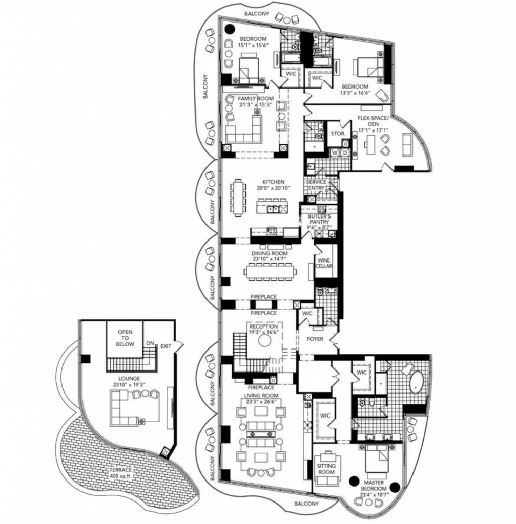 claridge icon penthouse