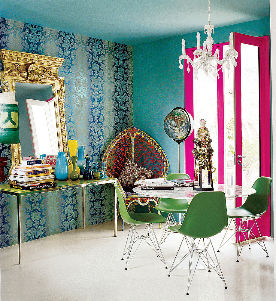 Homepolish Brooklyn Apartment Design With Cool Wallpaper: Because Understated Is Overrated, 16 Maximalist Rooms That