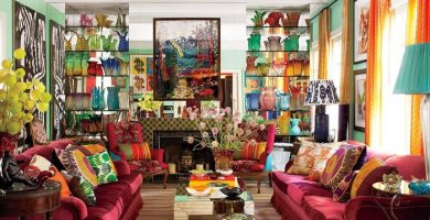 maximalist rooms featured