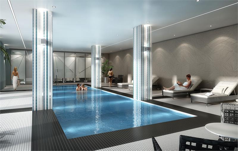 perspective condos pool