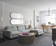 100 West 93rd living room