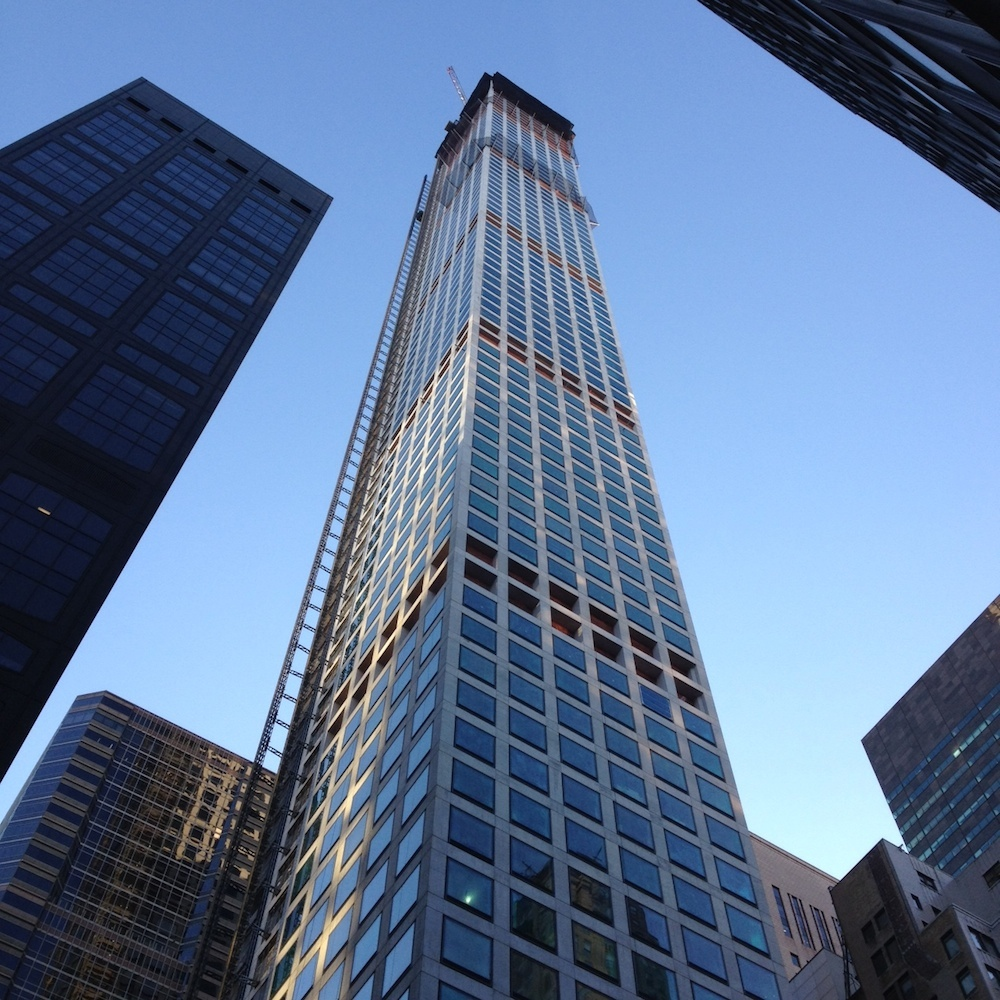 topped out 432 park avenue goes all the way to become tallest residential building in western. Black Bedroom Furniture Sets. Home Design Ideas