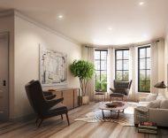 76 Lefferts Place living room