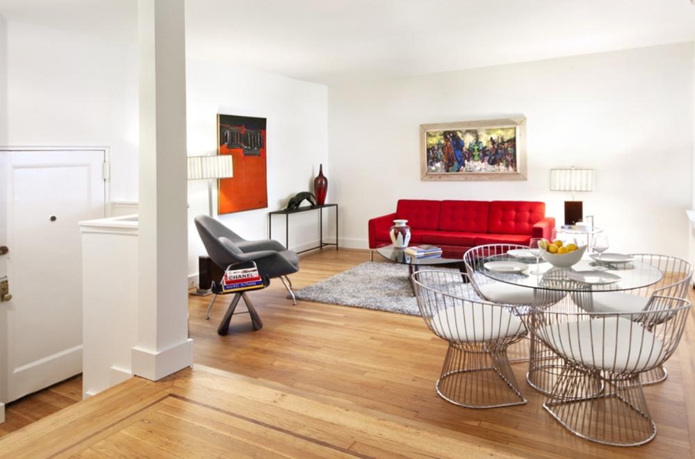 The Arthur living room