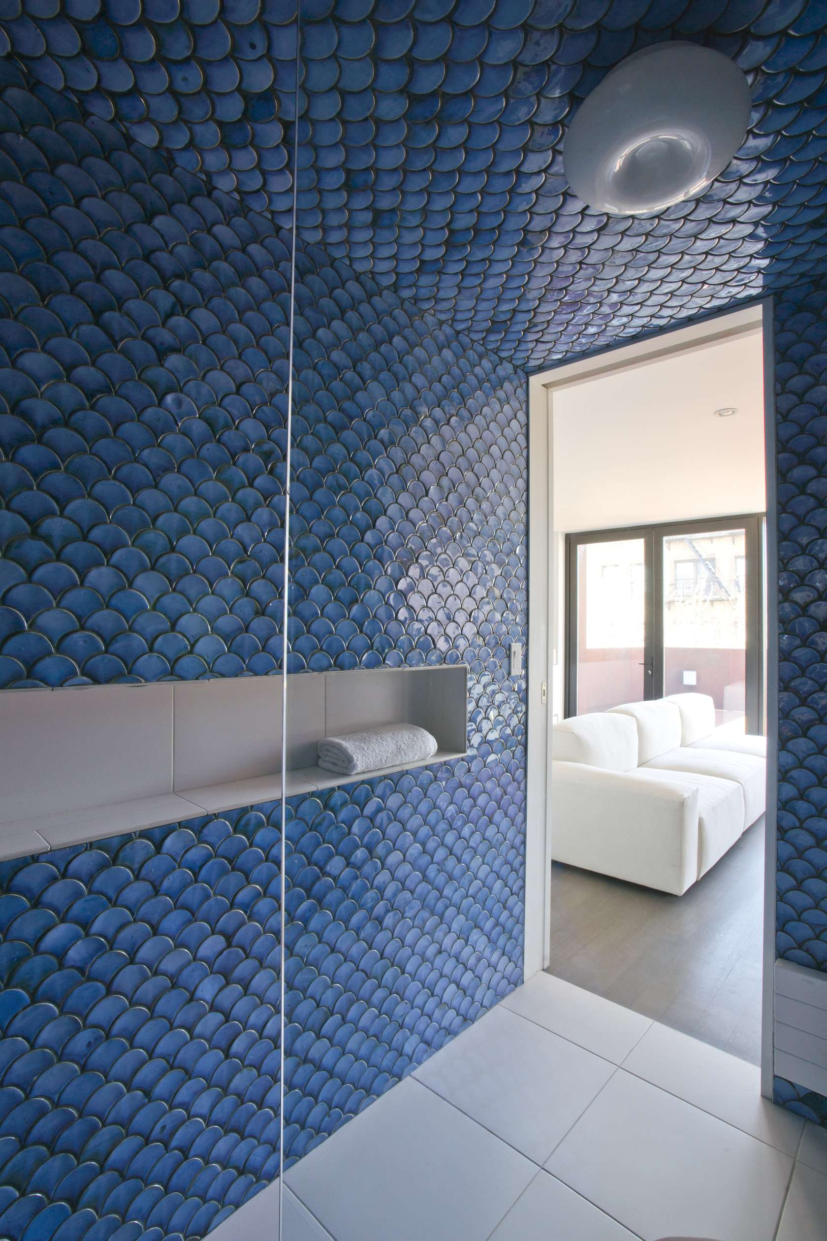 scale shower tiles